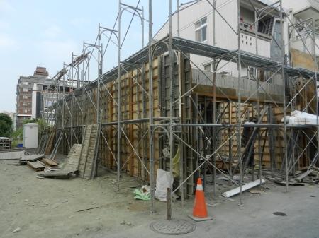 武威街170巷住宅新建工程-1樓施作
