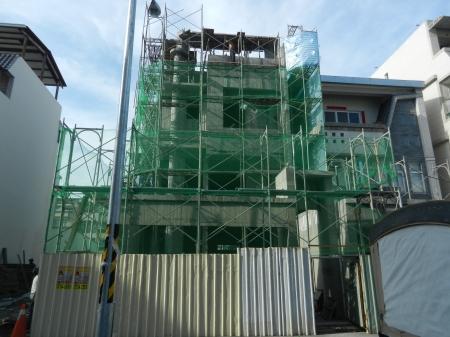 武威街170巷住宅新建工程-4樓施作