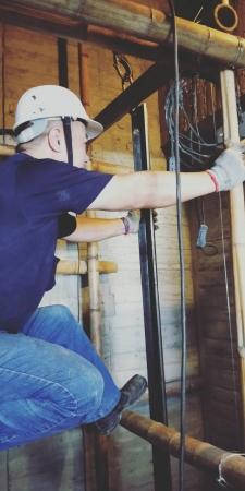 香榭麗墅四戶住宅新建工程-電梯安裝