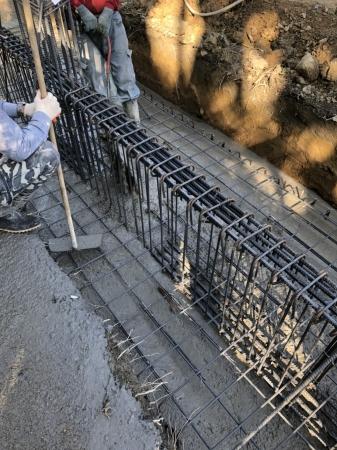 內埔農舍自建案-基礎灌漿