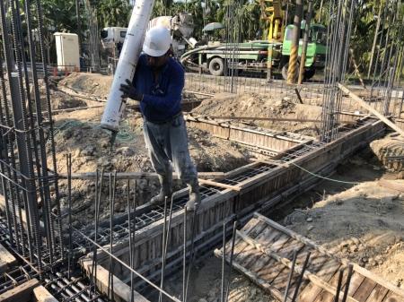 內埔農舍自建案-灌漿