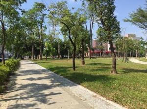鳳山青年公園景觀改造完成